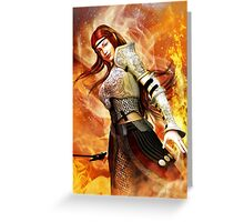 Fire Elf Greeting Card