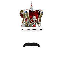 The Moustache Queen Photographic Print