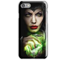 Maleficent Angelina Jolie iPhone Case/Skin