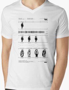 Skool Daze Mens V-Neck T-Shirt