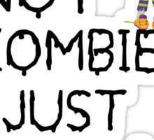 funny Zombie kid Sticker