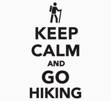 Keep calm and go hiking Kids Tee