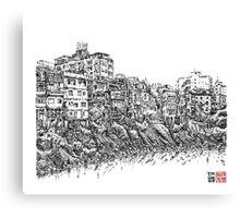 Shengken Old Street riverside, Taipei Canvas Print
