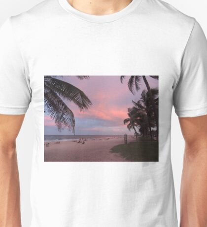 Pink Florida Sunset T-Shirt