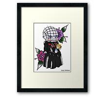 Pinhead Kewpie Hellrasier Framed Print