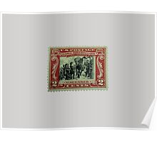 George Rogers Clark Commemorative Stamp Poster