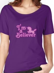 I believe in unicorns Women's Relaxed Fit T-Shirt