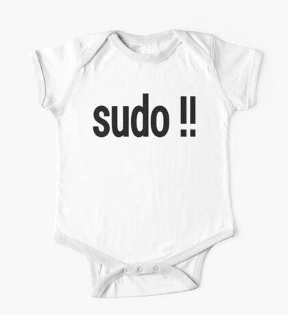 sudo !! - Run the last command as superuser One Piece - Short Sleeve