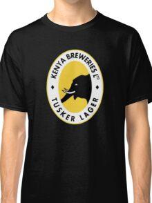 TUSKER BEER LAGER KENYA Classic T-Shirt