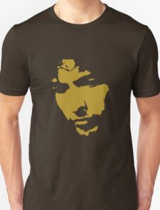 black and gold music legend silhouette Unisex T-Shirt