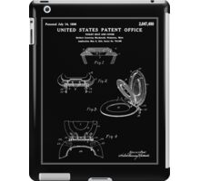 Toilet Seat and Cover Patent - Black iPad Case/Skin