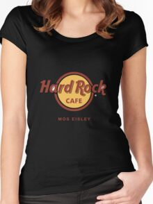 Hard Rock Cafe Mos Eisley Star Wars  Women's Fitted Scoop T-Shirt