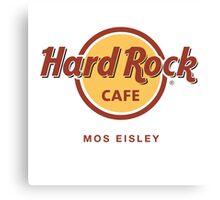 Hard Rock Cafe Mos Eisley Star Wars  Canvas Print
