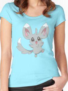 Minccino the Pokemon Women's Fitted Scoop T-Shirt