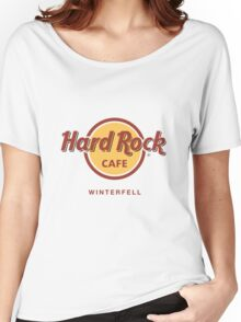 Hard Rock Cafe Winterfell Game of Thrones Women's Relaxed Fit T-Shirt