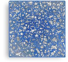 Space Stuff Canvas Print
