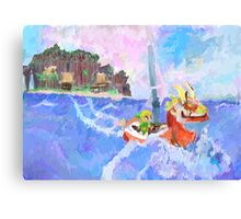 Wind Waker Colour Study Canvas Print