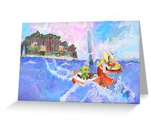 Wind Waker Colour Study Greeting Card