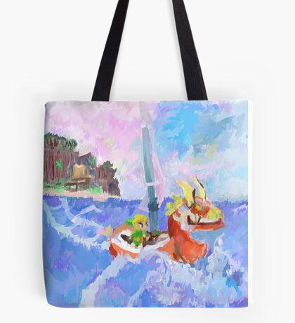 Wind Waker Colour Study Tote Bag