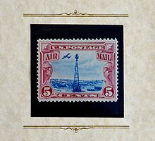 The Five Cent Bi-Color Air Mail Stamp of 1928 by Schoolhouse62