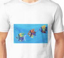Three Little Fishy's Unisex T-Shirt