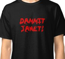 Rocky Horror Dammit Janet Classic T-Shirt