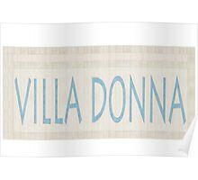 Villa Donna Poster