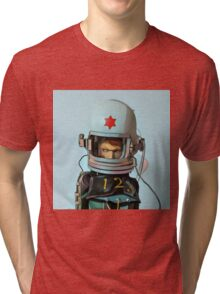 Cosmonaut Vector Tri-blend T-Shirt