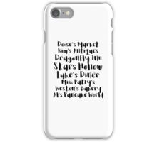 Gilmore Girls - Stars Hollow iPhone Case/Skin
