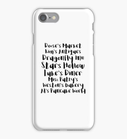 Gilmore Girls - Stars Hollow iPhone Case/Skin