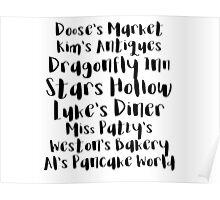 Gilmore Girls - Stars Hollow Poster