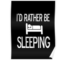 Sleeping and resting  Poster