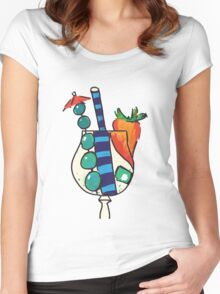 Weird Cocktail  Women's Fitted Scoop T-Shirt