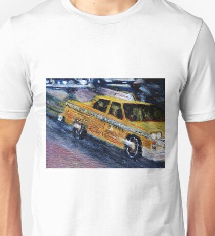 NYC taxi 2 Unisex T-Shirt