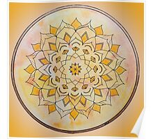 Sacral Chakra Mandala Poster