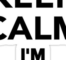 Keep calm I'm a Hairdresser Sticker