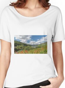 Snowdonia Lake Women's Relaxed Fit T-Shirt