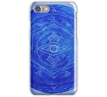 Third Eye Chakra Mandala iPhone Case/Skin