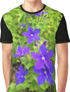 Speedwell Flower Graphic T-Shirt