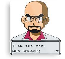 I am the one who knOAKs Metal Print
