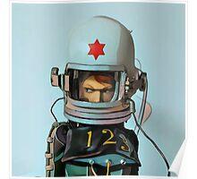 Cosmonaut Vector Large Poster