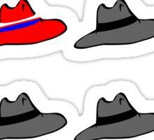 carter's hat Sticker