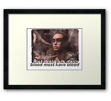 lexa Framed Print
