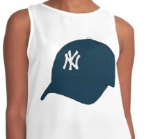 Yankees Hat Contrast Tank