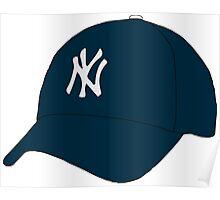 Yankees Hat Poster