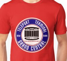 GRAND CENTRAL NEW YORK TELEPORT TERMINAL Unisex T-Shirt