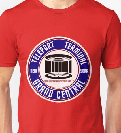 GRAND CENTRAL NEW YORK TELEPORT TERMINAL Unisex T-Shirt