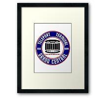 GRAND CENTRAL NEW YORK TELEPORT TERMINAL Framed Print