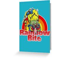 Rainbow Bite Greeting Card