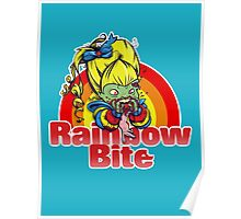Rainbow Bite Poster